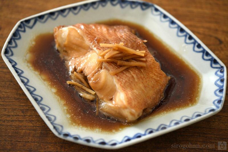 赤魚の煮付けの写真