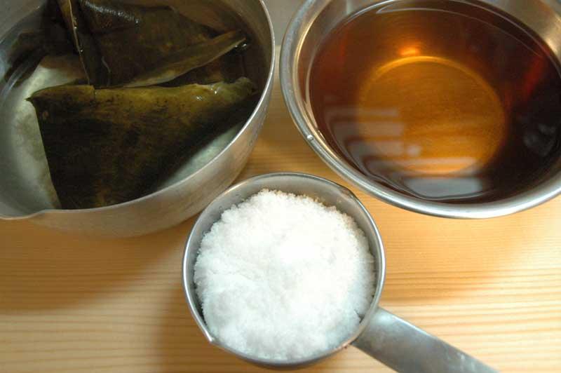 作り置き甘酢(甘酢漬けの素)の写真