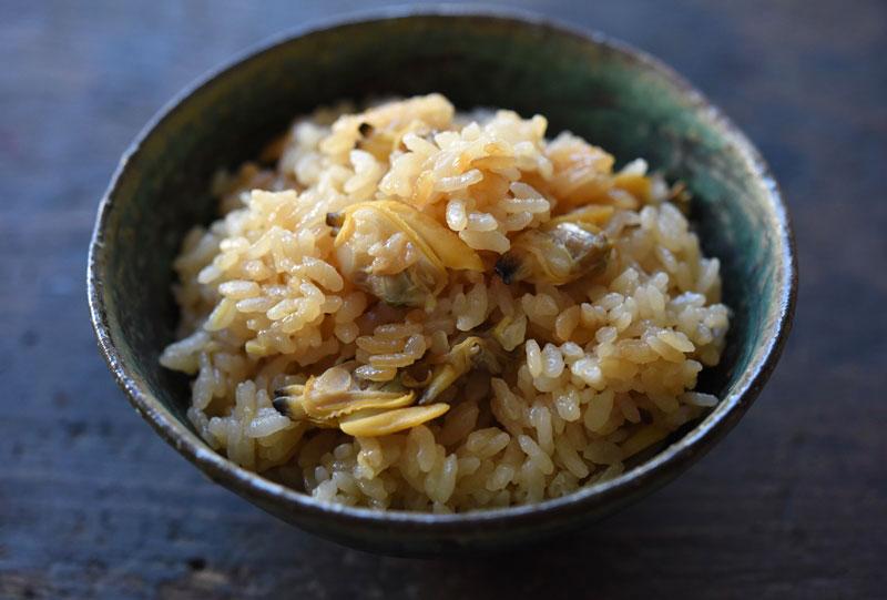 あさりご飯(炊き込み)のレシピ/作り方