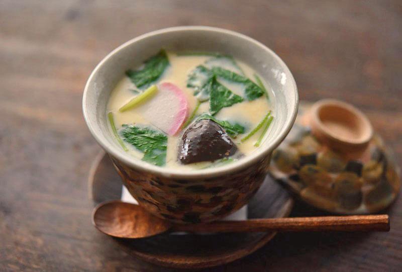 基本のシンプル茶碗蒸しの写真