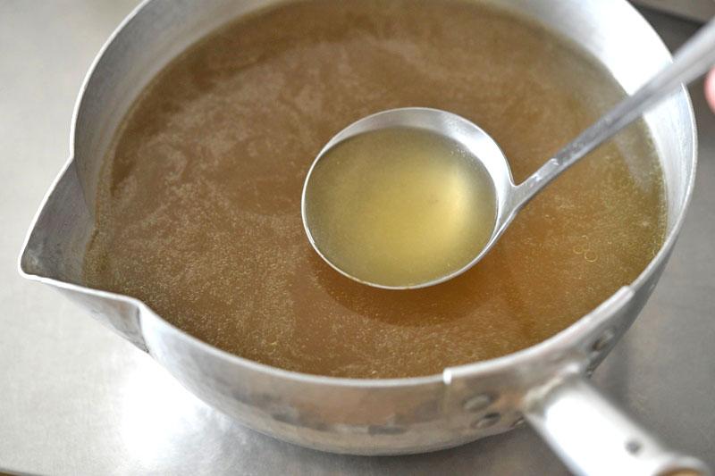 ラーメンスープの作り方/だしの取り方の写真