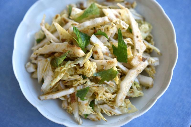 サラダ レシピ 白菜 【簡単レシピ】「白菜サラダ」確かにどんぶり一杯食べられるぞこれは!美味い!