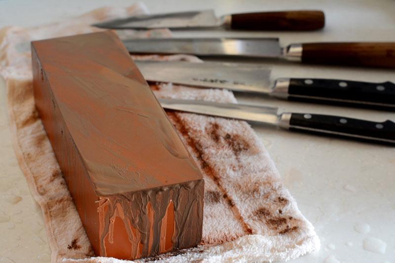 包丁の研ぎ方の写真