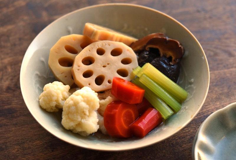野菜の含め煮/炊き合わせの写真