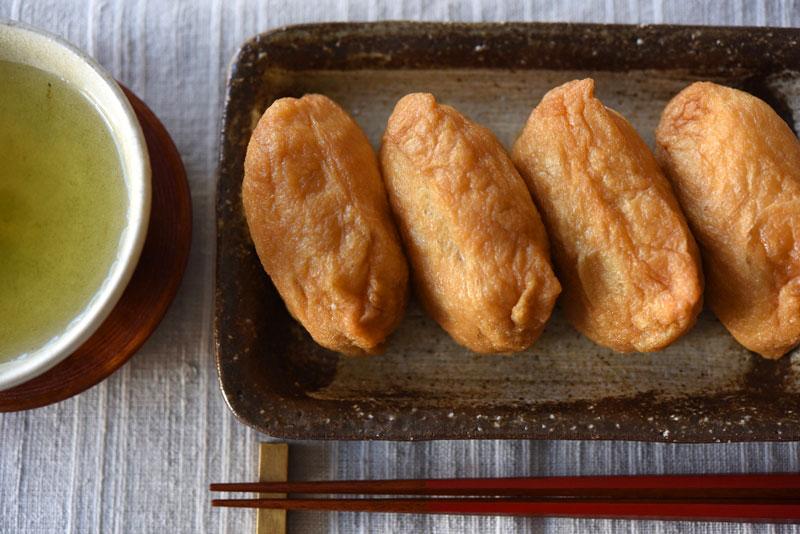 だし汁いらずのいなり寿司の写真