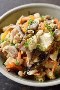 炒り 豆腐 人気 レシピ