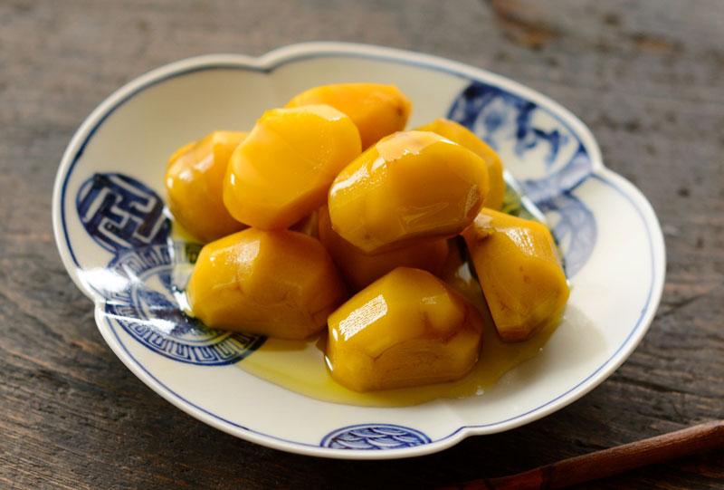 栗の甘露煮のレシピ/作り方:白ごはん.com