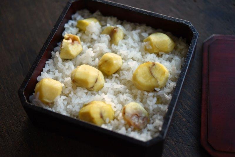 おこわ 器 栗 炊飯