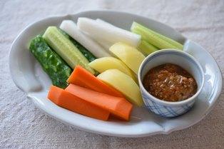 野菜 スティック ディップ ソース