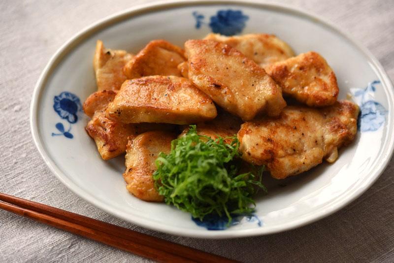 鶏むね肉の香味ソテーの写真