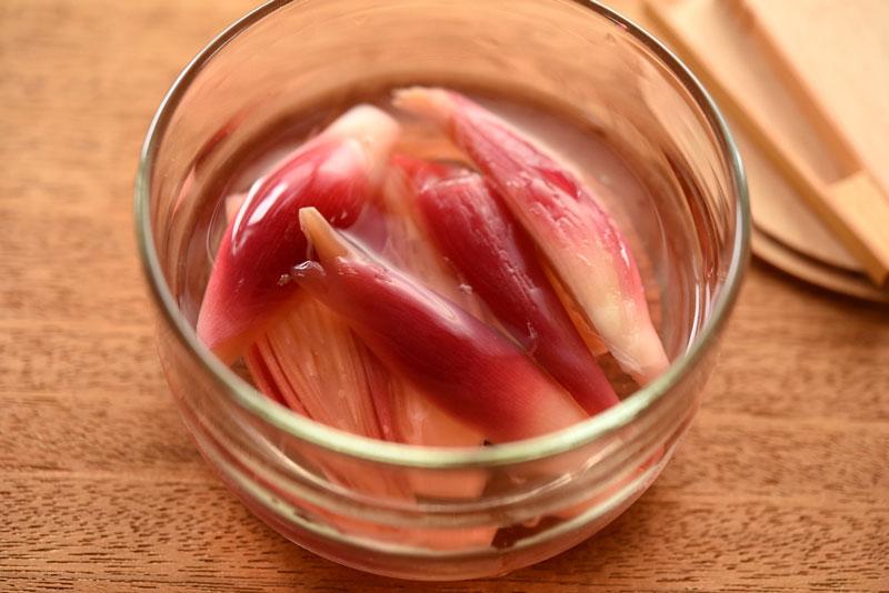 みょうが 茎 レシピ