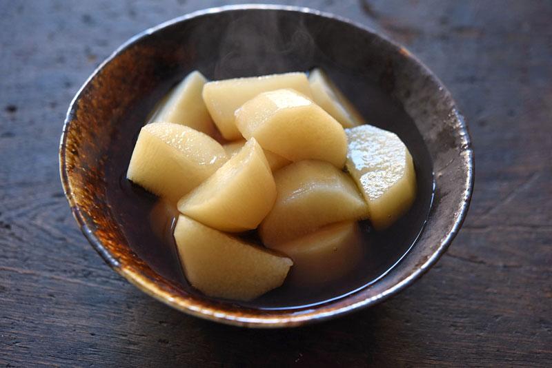 長芋の煮物の写真