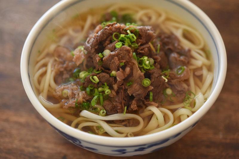 肉うどんのレシピ/作り方