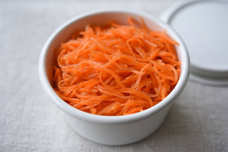 にんじんサラダの写真