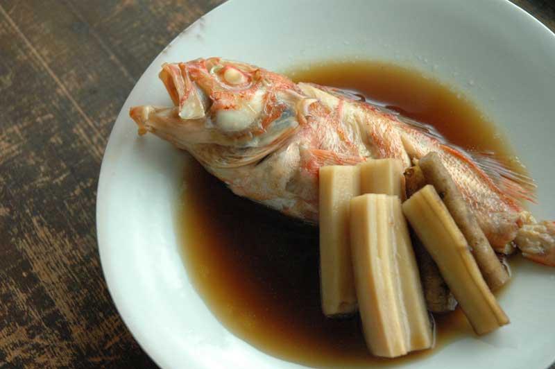 魚の煮付けの基本の写真