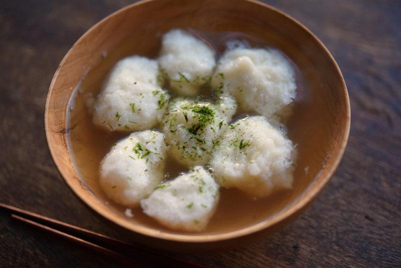 ほっこり簡単!山芋の落とし汁のレシピ/作り方:白ごはん.com