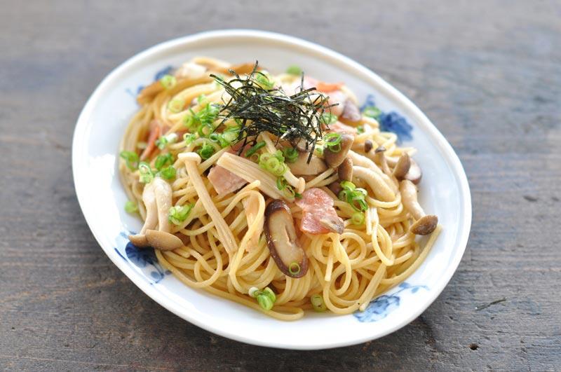 和風きのこパスタのレシピ/作り方