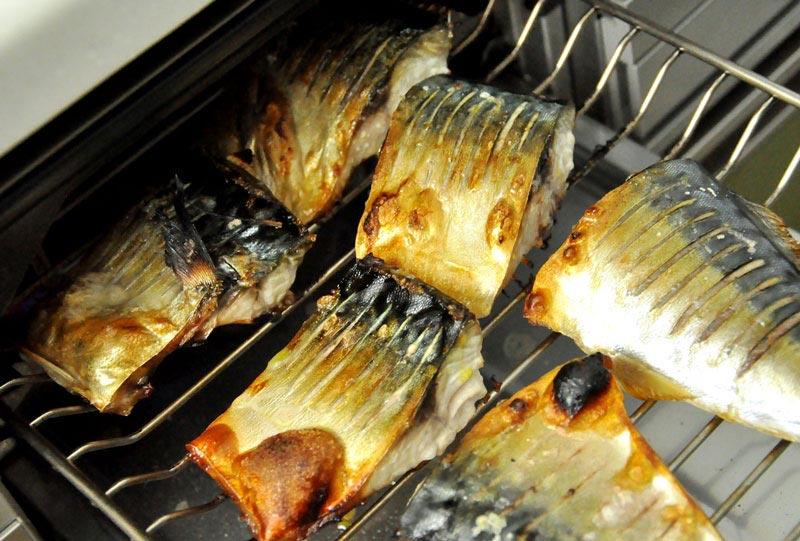 鯖(サバ)の塩焼きのコツの写真