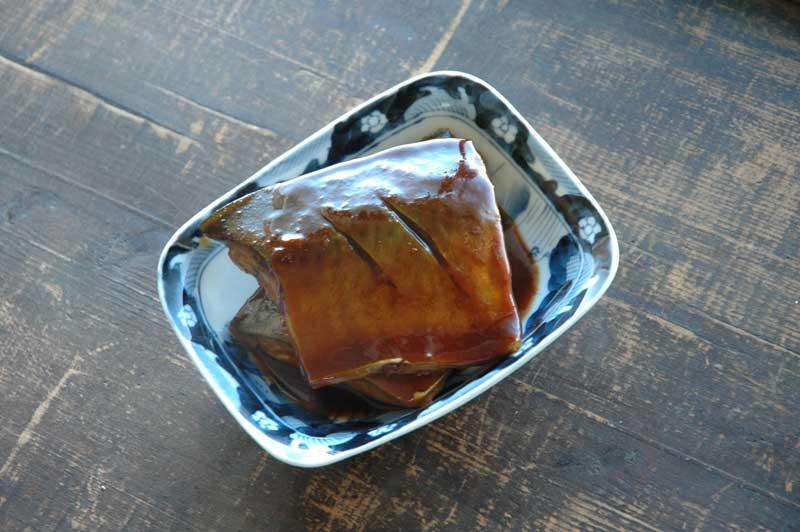 練り味噌で作るさばの味噌煮の写真