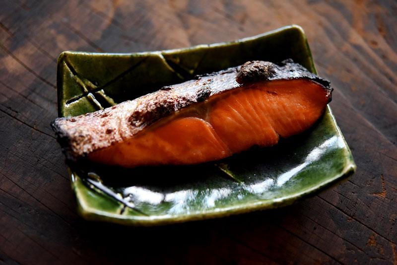 鮭の粕漬け焼きの写真