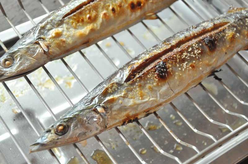さんまの塩焼きの焼き方の写真