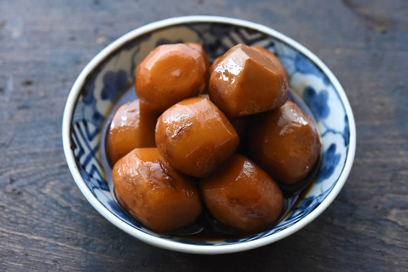 里芋の煮物の写真