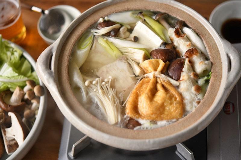 かわはぎのちり鍋の写真