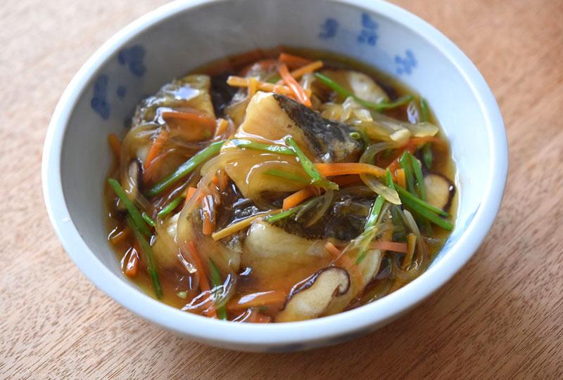 タラの野菜あんかけの写真