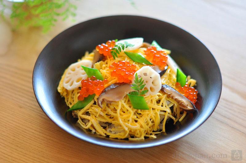 ちらし寿司のレシピ/作り方