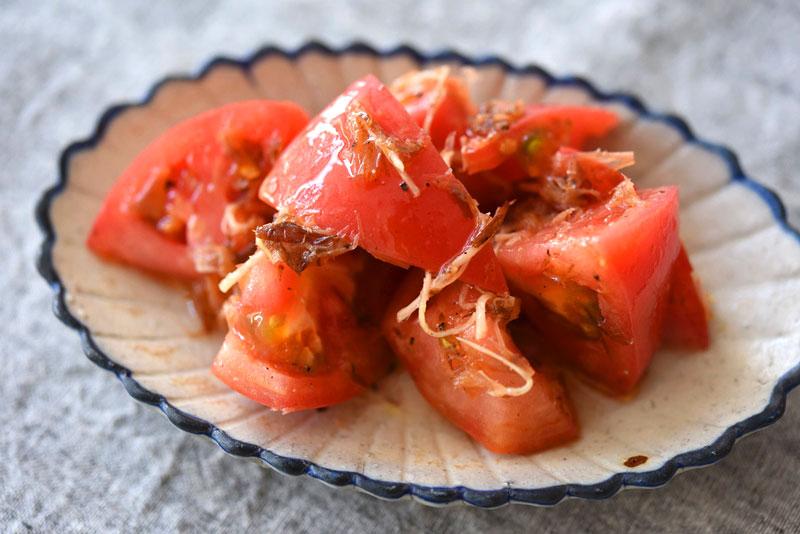 トマトサラダの写真