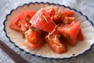 簡単トマトサラダ(和え物)のレシピ写真
