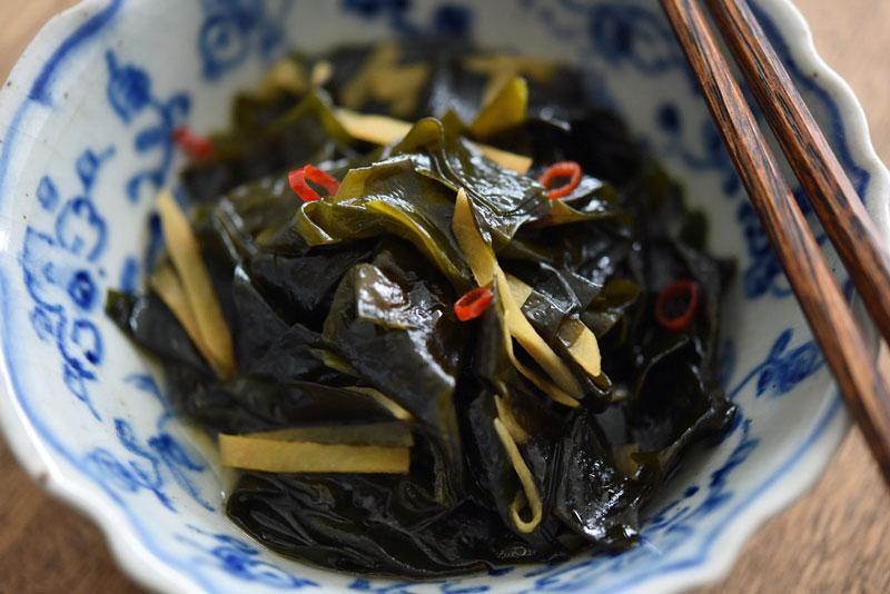 わかめの生姜煮の写真