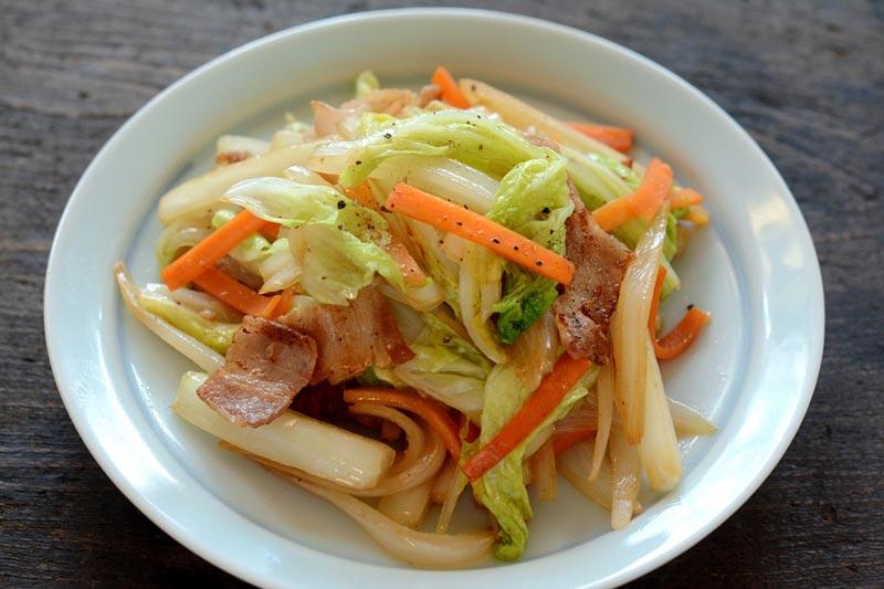 肉野菜炒めの写真