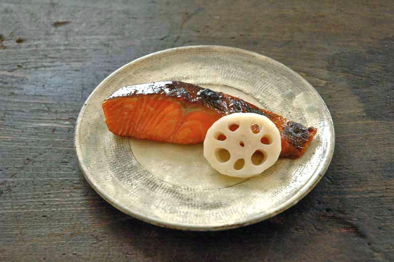 鮭のつけ焼き(幽庵焼き)の写真