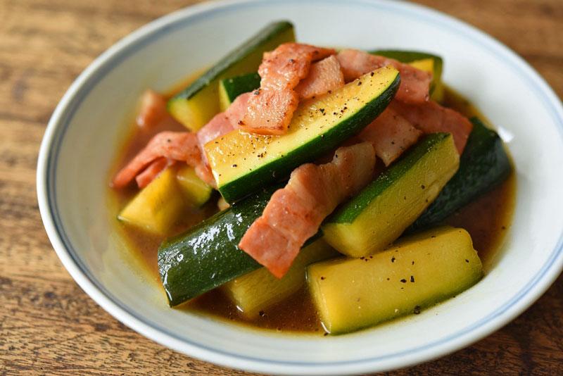 ズッキーニの炒め煮のレシピ写真